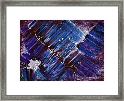 Framed Print featuring the painting Storm by Tracey Myers