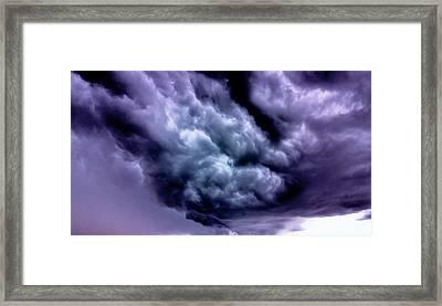 Storm Framed Print by Vlad Baciu