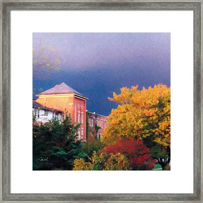Framed Print featuring the photograph Storm Watch by The Art of Marsha Charlebois