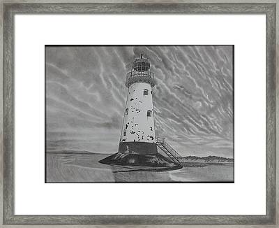 Storm Watch Framed Print