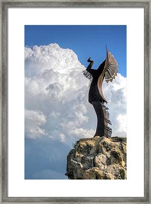 Storm Watcher  Framed Print by JC Findley