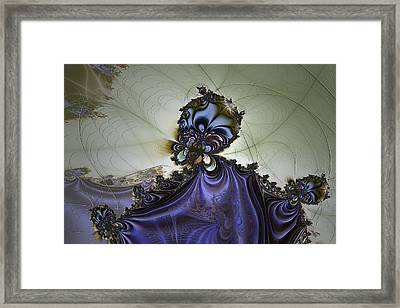 Storm Wizard Framed Print by Owlspook