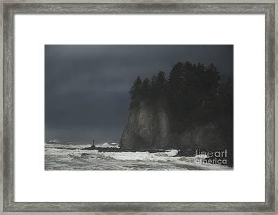 Storm At Lapush Washington State Framed Print