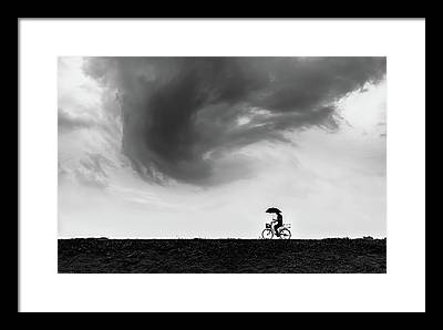 Twirl Framed Prints