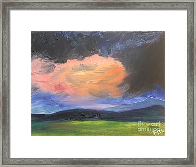 Stormchaser Framed Print by PainterArtist FIN
