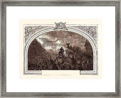 Storming Of Badajoz, Under Wellington, April 6th Framed Print