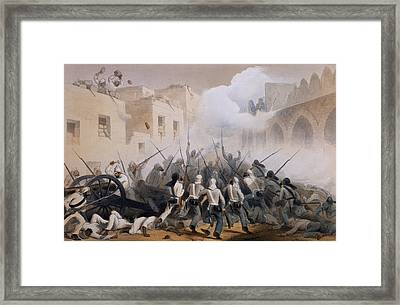 Storming Of Delhi 1857, From The Framed Print by George Francklin Atkinson
