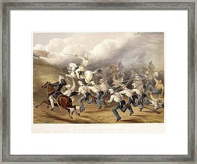 Storming The Batteries At Badle - Serai Framed Print by British Library