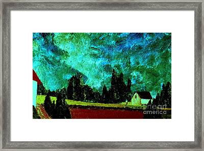 Stormlight Framed Print