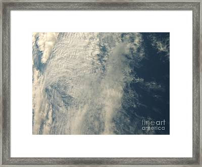 Storm's A-brewin' Framed Print by Margaret McDermott