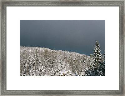Storm's A'brewin' Framed Print by David Porteus
