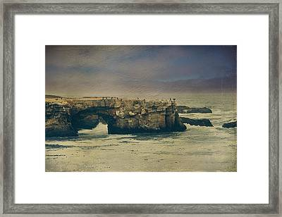 Storms Always Pass Framed Print by Laurie Search