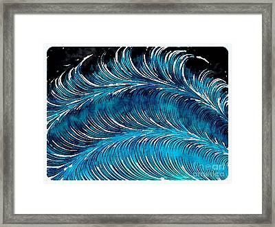 Storms At Sea Framed Print
