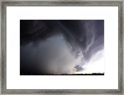 Storms Fury Award Winner Framed Print
