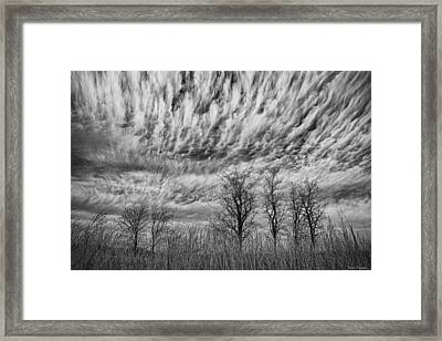 Storms To Come Framed Print