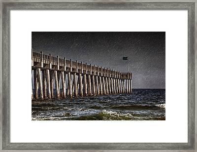 Stormscape Framed Print by Sennie Pierson
