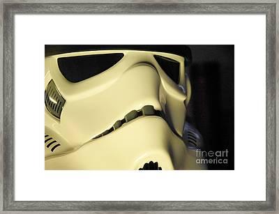 Stormtrooper Helmet 113 Framed Print