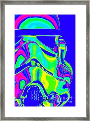 Stormtrooper Helmet 7 Framed Print