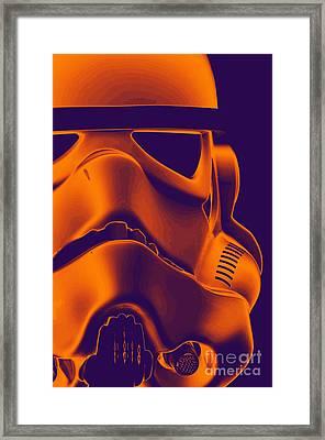 Stormtrooper Helmet 9 Framed Print