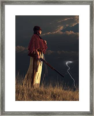 Stormwatcher Framed Print by Daniel Eskridge