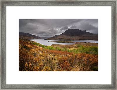 Stormy Afternoon In Scotland Framed Print