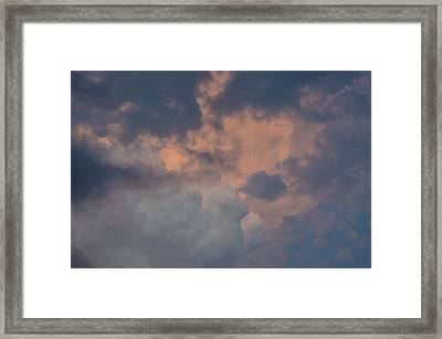 Stormy Clouds Viii Framed Print by Bradley Clay