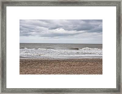 Stormy Coast Framed Print