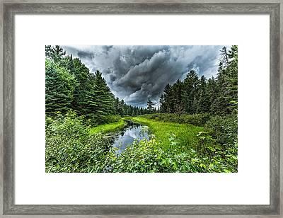 Stormy Creek Framed Print by Jeffrey Ewig