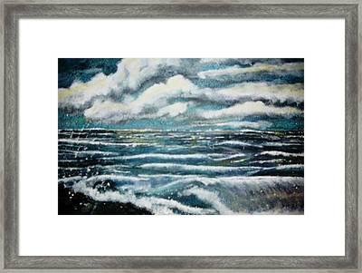 Stormy Day Framed Print by Fabrizio Mapelli