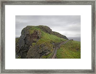 Stormy Day Ireland Framed Print by Betsy Knapp