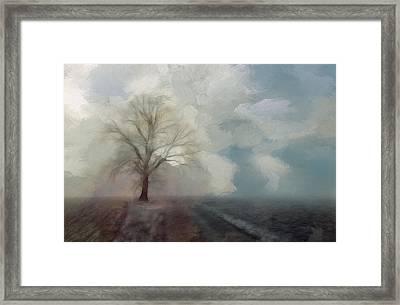 Stormy Day Framed Print by Steve K