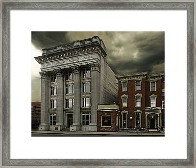 Stormy Day Framed Print by Steven Michael