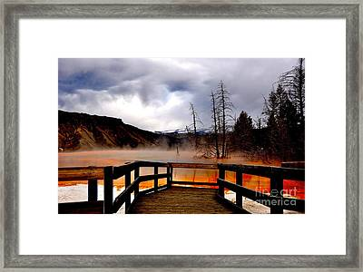 Stormy Days Framed Print by Birches Photography