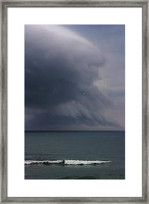 Stormy Days Framed Print by Bruce Bley