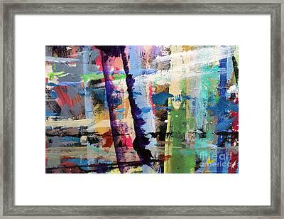 Stormy Meadow Framed Print