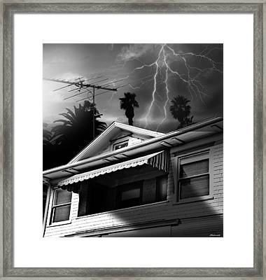 Stormy Monday Framed Print by Larry Butterworth
