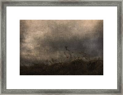 Stormy Mondays Framed Print by Ron Jones