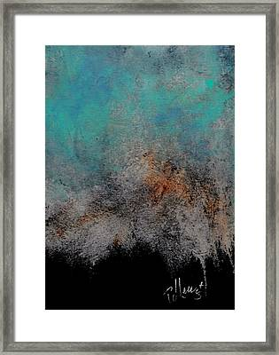 Stormy Night Framed Print by P J Lewis
