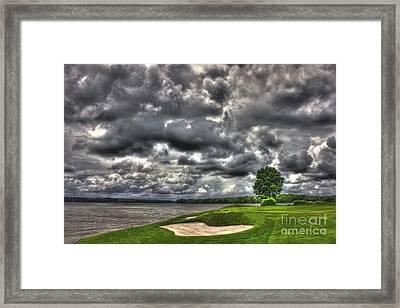 Stormy Number 4 Framed Print by Reid Callaway