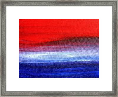 Stormy Sea 2012 Framed Print
