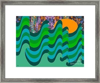 Stormy Sea Framed Print by Patrick J Murphy