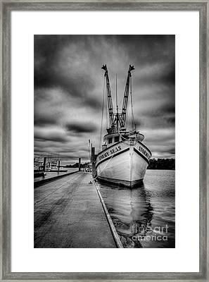 Stormy Seas Framed Print by Matthew Trudeau