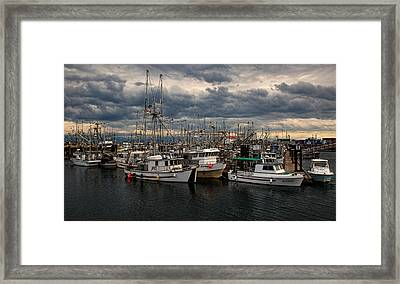 Stormy Skies Framed Print by Randy Hall