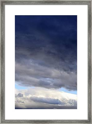 Stormy Sky Framed Print by Sami Sarkis