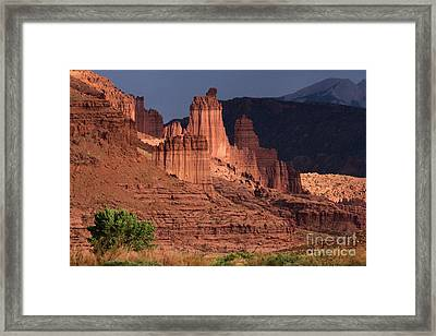 Stormy Sunset Framed Print by Adam Jewell