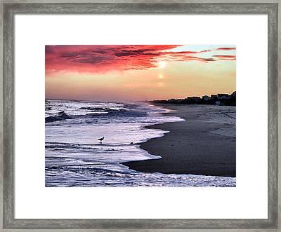 Stormy Sunset Framed Print by Patricia Januszkiewicz