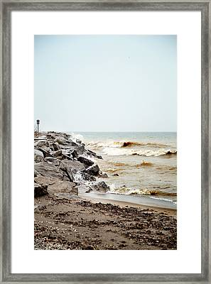 Framed Print featuring the photograph Stormy Weather by Courtney Webster