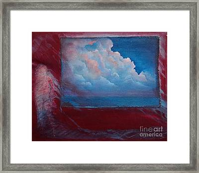 Stormy Weather Framed Print by Cynthia Vaught