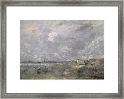 Stormy Weather, Pas De Calais Framed Print