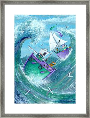 Stormy Weather Framed Print by Peter Adderley